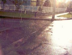 Ploua cu soare...