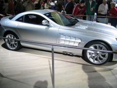 mercedes mc.laren concept