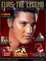 Elvis Presley - Prima revista Elvis din Romania