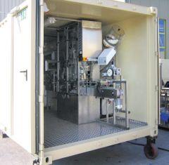 Fabrica containerizata de imbuteliere apa
