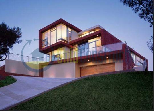Pin proiecte case moderne minimaliste bucuresti cub for Casa moderna romania