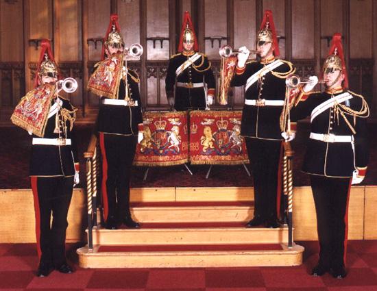 Trompetistii Cavaleriei Regale