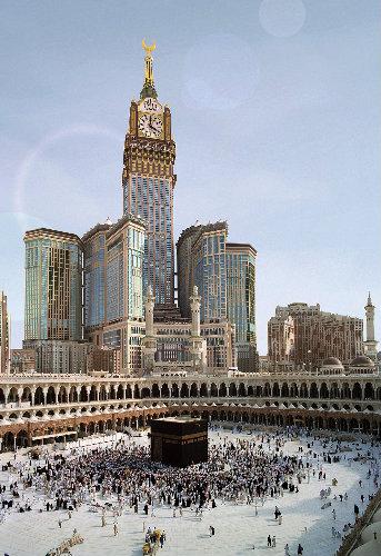 Turnurile Abraj Al Bait din Mecca