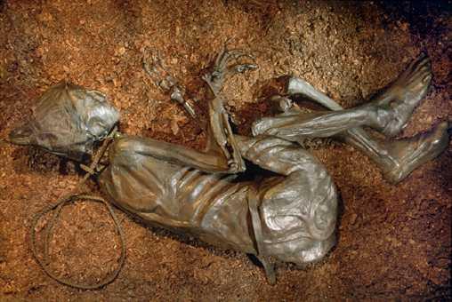 cadavru mumificat