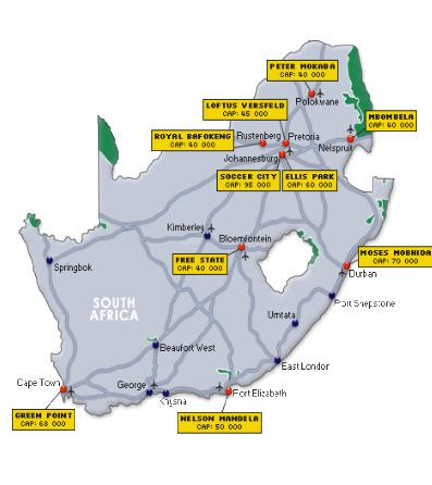 Programul campionatului mondial de fotbal Africa de Sud 2010