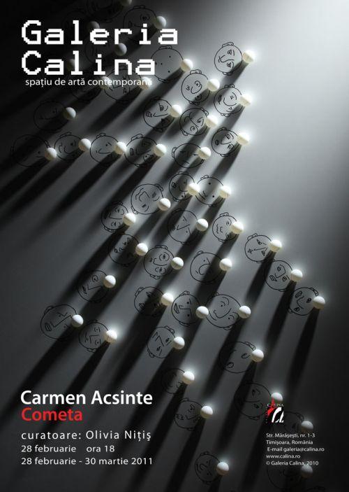Expozitie Carmen Acsinte - Cometa