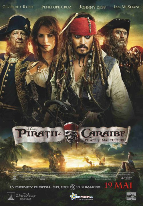 Pirates of the Caribbean: On Stranger Tides 3D (Piratii din Caraibe: Pe ape si mai tulburi 3D)