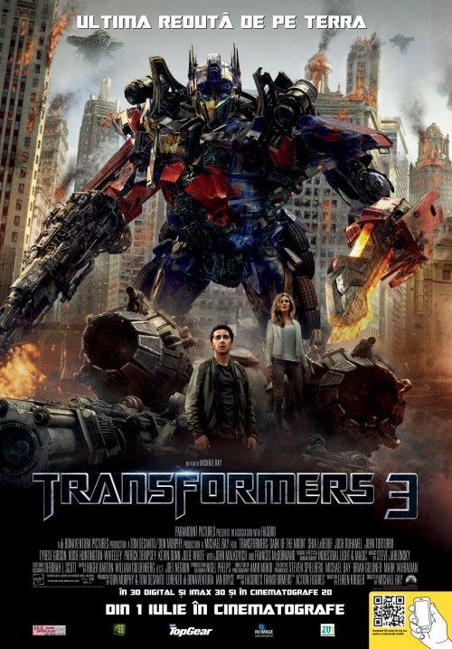 Transformers: Dark of the Moon 3D (Transformers 3 3D)