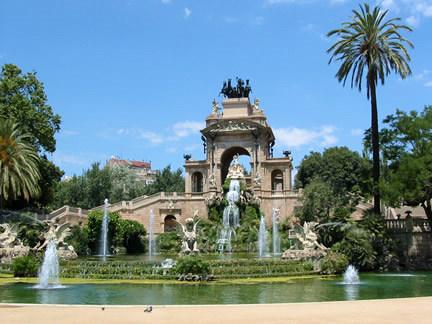 Parcul Ciutadella si fanata arteziana