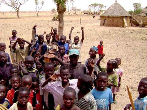 Copii din Niger