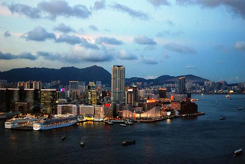 portul Victoria Hong Kong