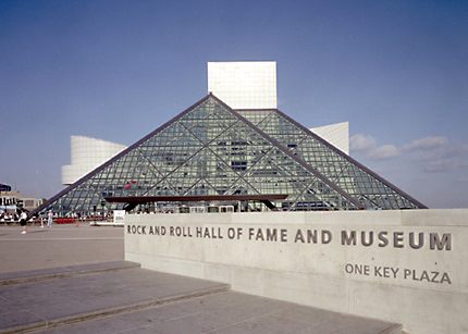 Muzeul Rock n' Roll Hall of Fame - Cleveland