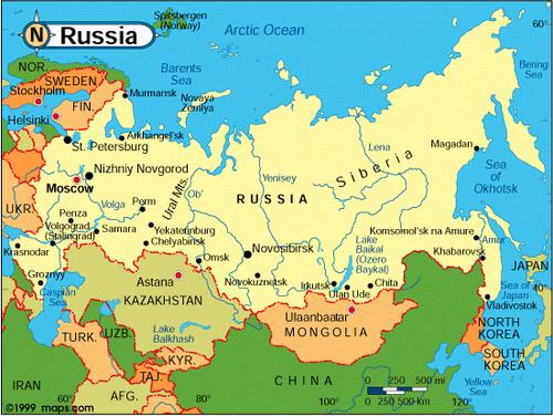 Vecinii Rusiei