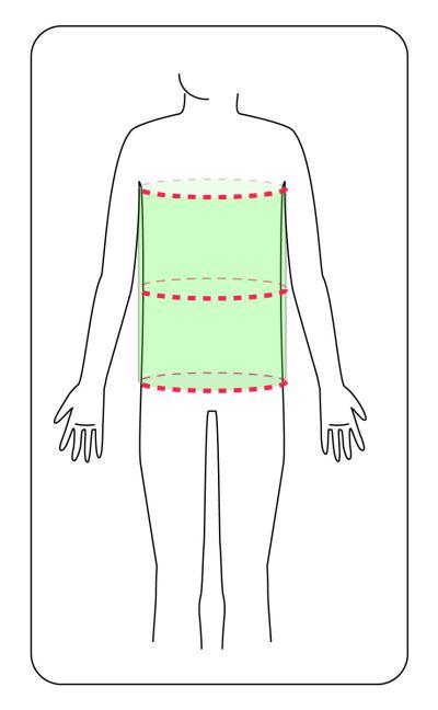 forma corp dreptunghi
