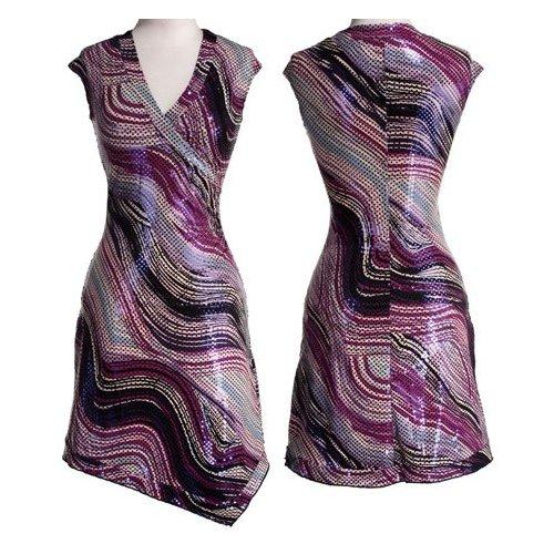 rochie stretch petrecuta