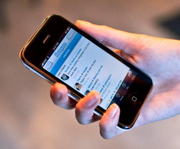 Conectat la foursquare