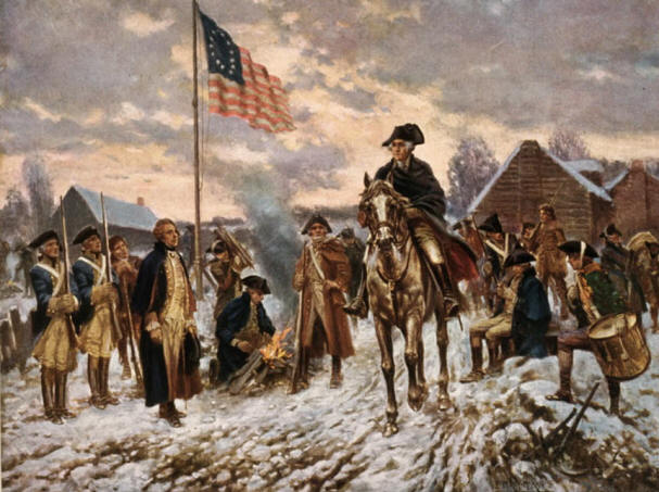 George Washington si armata sa