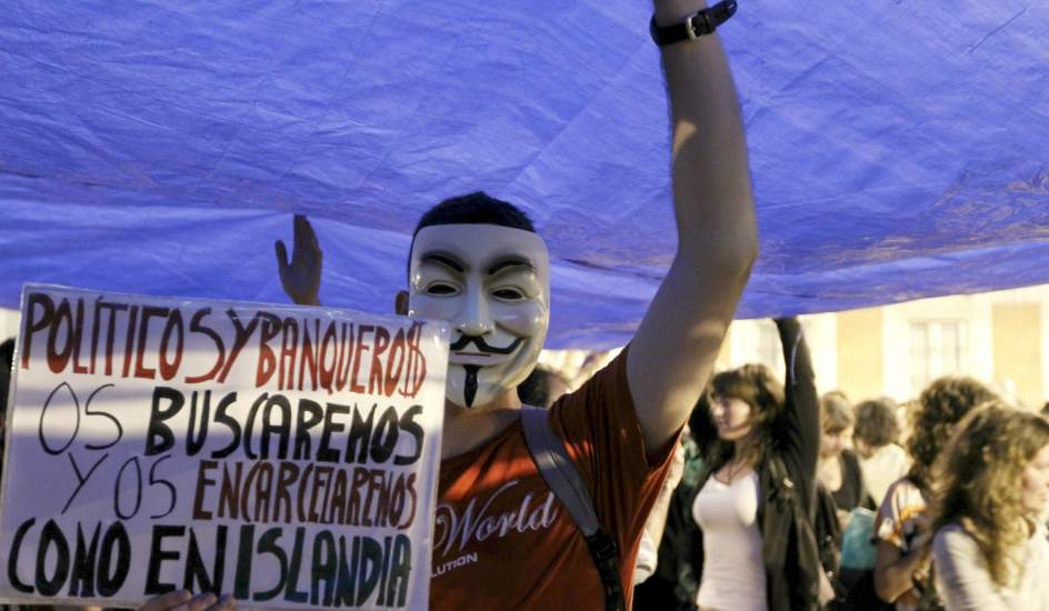 Proteste in Spania