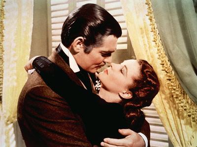 Scarlett O'Hara si Rhett Butler