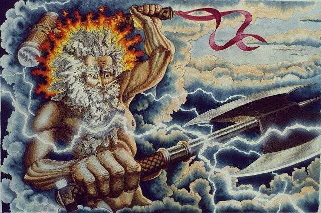 Perun - zeul tunetului