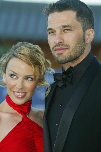 Kylie Minogue si Olivier Martinez