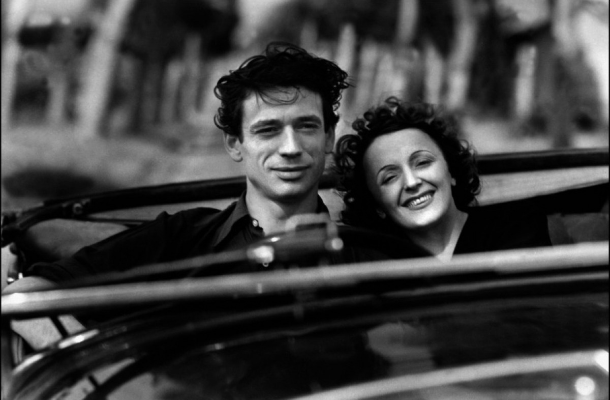 Edith Piaf si Yves Montand