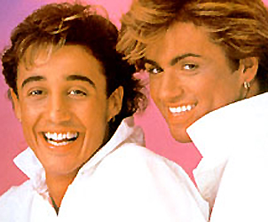 George Michael in Wham!