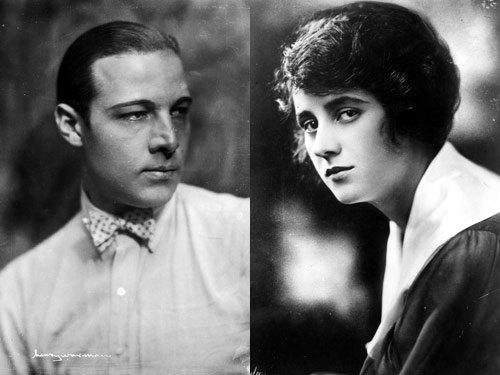 Rudolph Valentino si Jean Acker