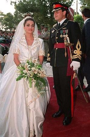 Nunta Reginei Rania cu Regele Abdullah