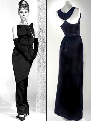 rochia neagra de satin