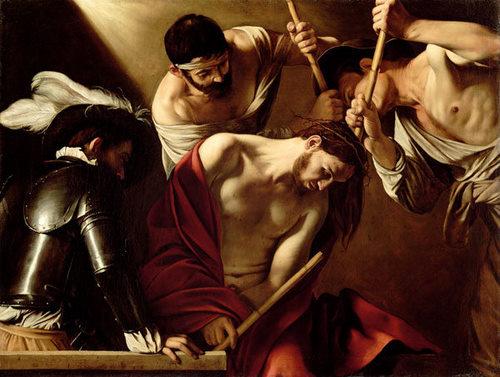 Caravaggio - Incoronarea cu spini