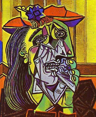 Femeie plangand - Pablo Picasso