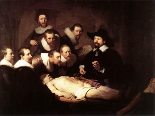 Lectia de anatomie a doctorului Tulp - Rembrandt