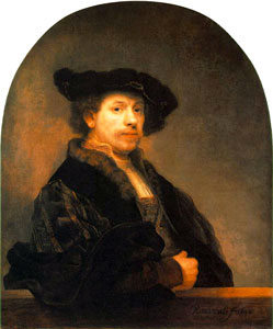 Rembrandt - Autopotret, 1640