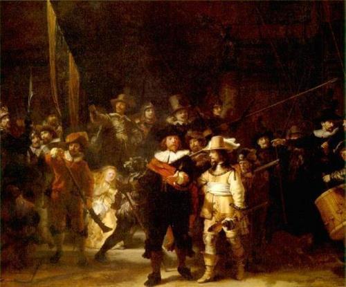 Rondul de noapte - Rembrandt