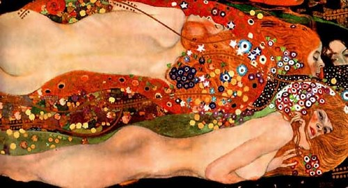 Serpii de apa - Gustav Klimt