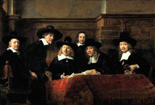 Sindicii postavarilor - Rembrandt
