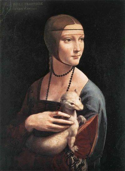 Dama cu hermina