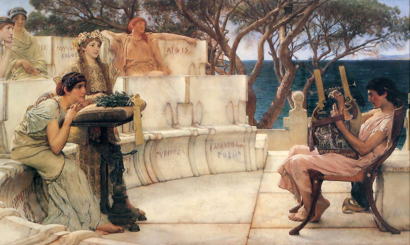 Sappho si Alcaeus