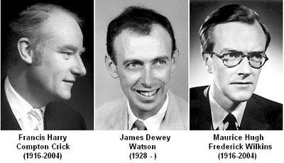 Watson, Crick si Wilkins