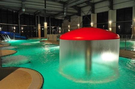 Ciuperca de apa de la Aqualand Deva