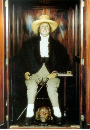 Trupul lui Jeremy Bentham