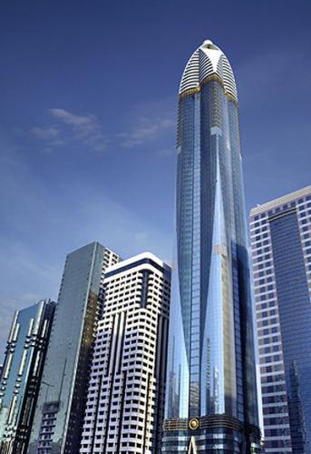 Turnul Rose, Dubai