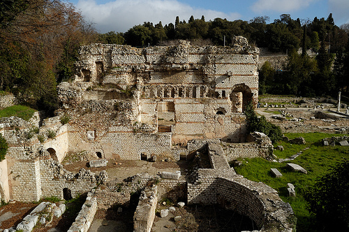 Ruinele orasului roman Cemenelum