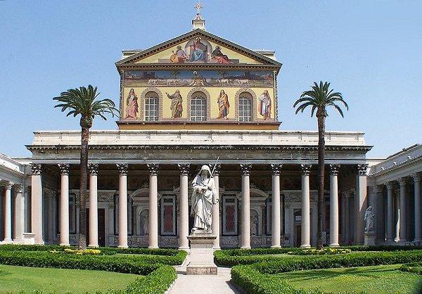 Basilica Sfantul Paul din afara zidurilor