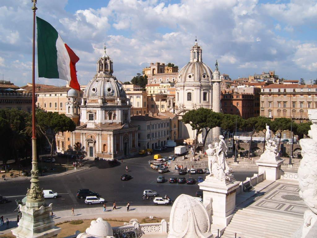 Piata Venetia din Roma