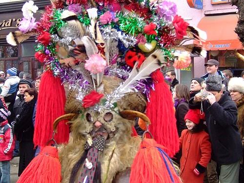 Festivalul de datini si obiceiuri de iarna Marmatia