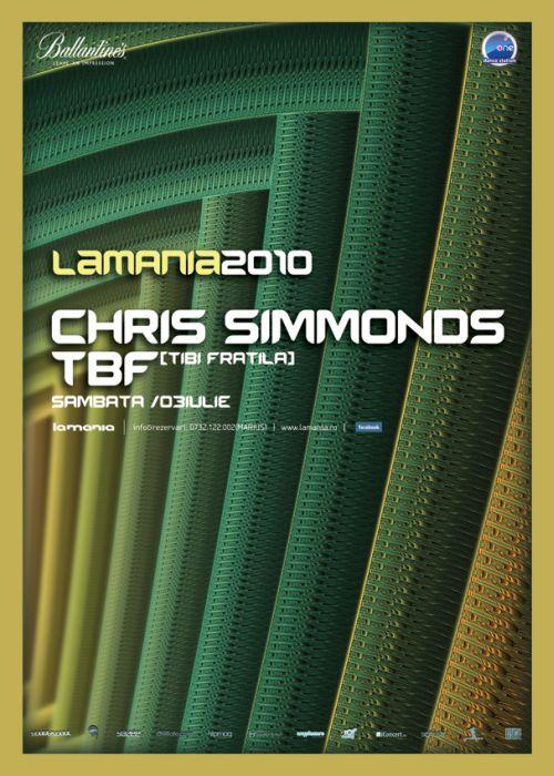 Chris Simmonds si TBF in La Mania