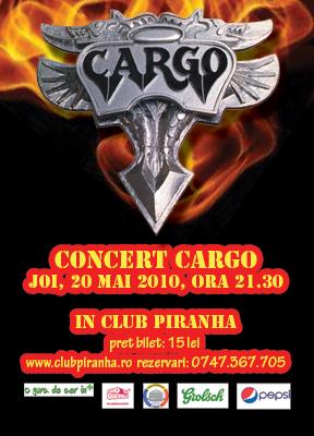 Concert Cargo in Club Piranha
