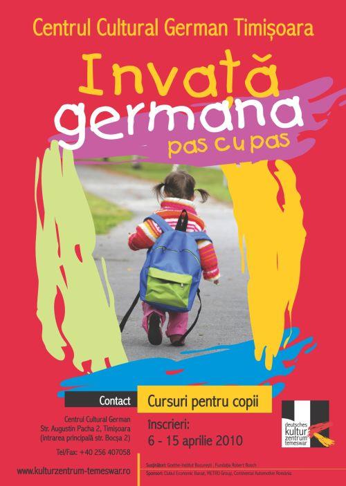 Cursuri germana pentru copii
